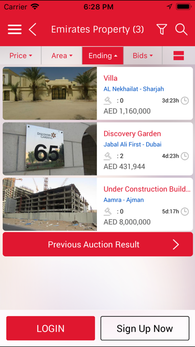 messages.download Emirates Auction software