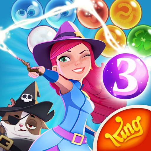 Bubble Witch 3 Saga iOS App