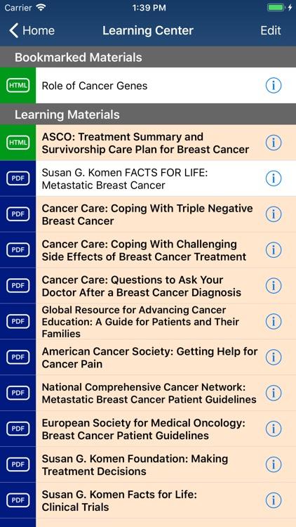 Breast Cancer Manager screenshot-5