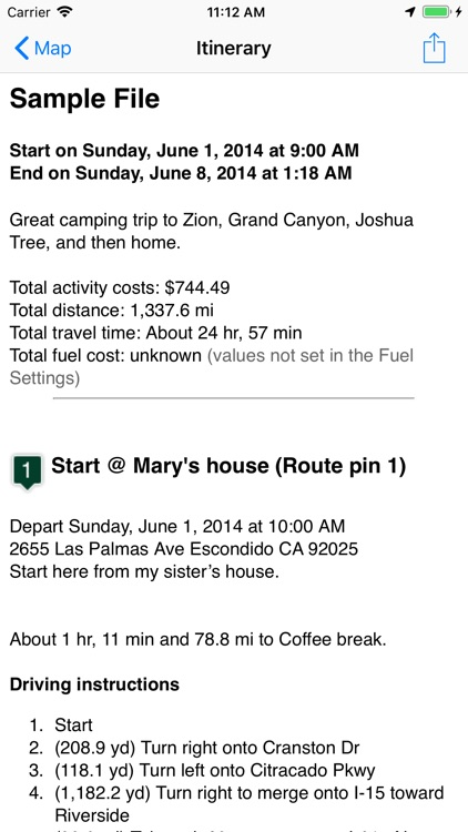 Road Trip Planner™ screenshot-2