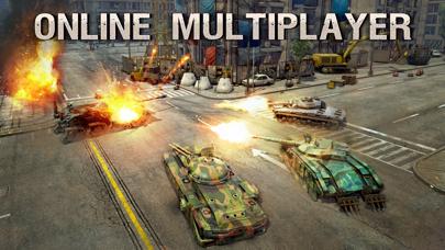 Screenshot from Infinite Tanks