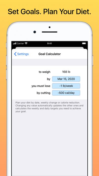 Weight Diary review screenshots