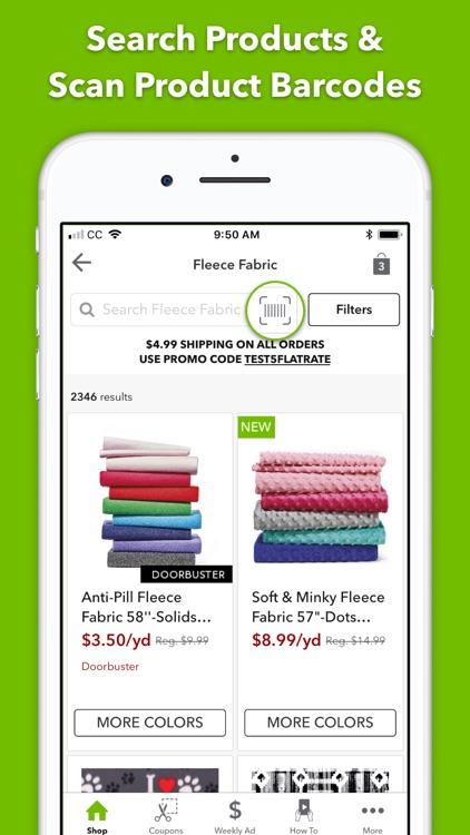 JOANN - Shopping & Crafts screenshot-4