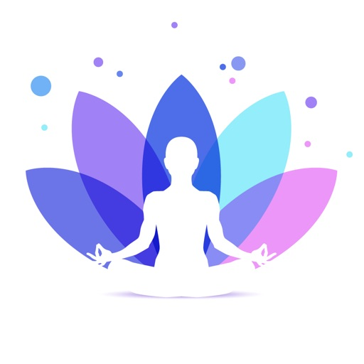 Meditation and relaxation' Icon