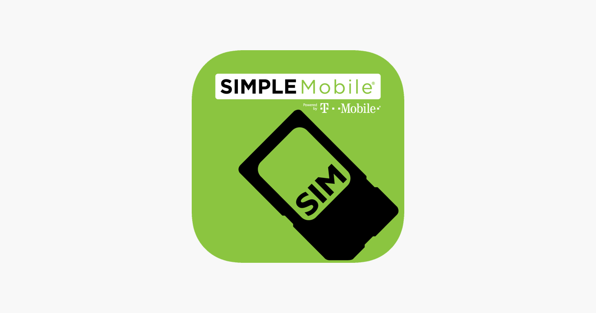 SIMPLE Mobile My Account on the App Store