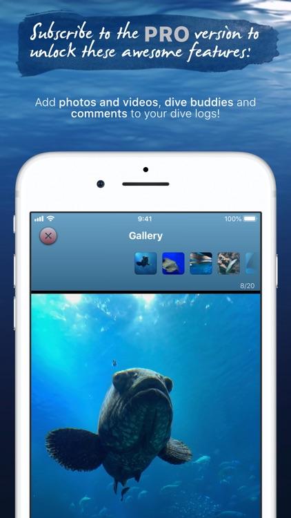 Breathe - Smart Scuba Dive Log screenshot-3