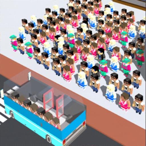 overload passengers rescue icon