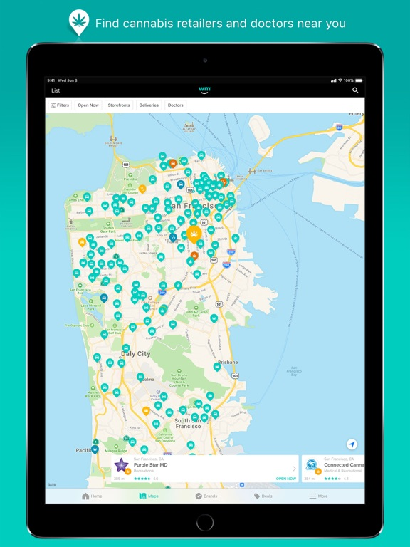 Weedmaps: Marijuana & Cannabis by WeedMaps (iOS, United
