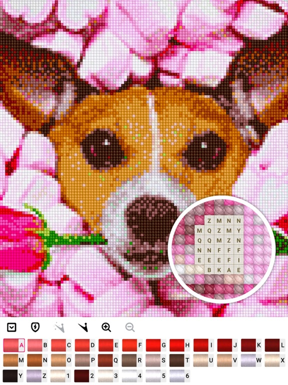 Cross stitch : Color by Letter screenshot 9