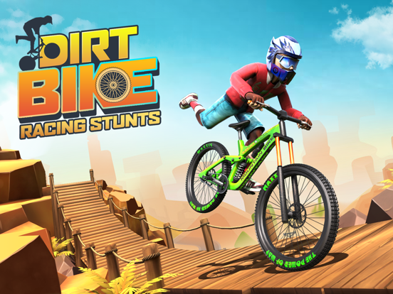 Dirt Bike Racing Stunts screenshot 1