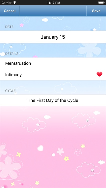 Fertility Tracker for Women screenshot-3