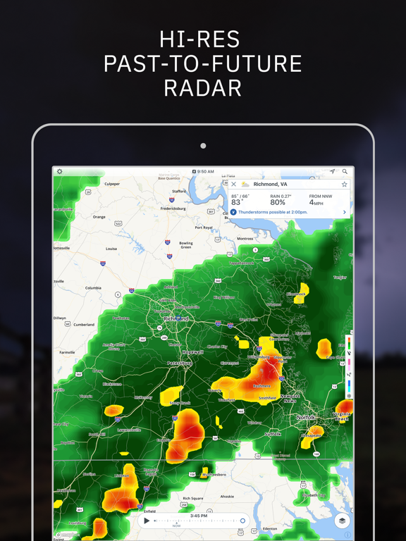 Storm - Weather radar & maps by The Weather Channel