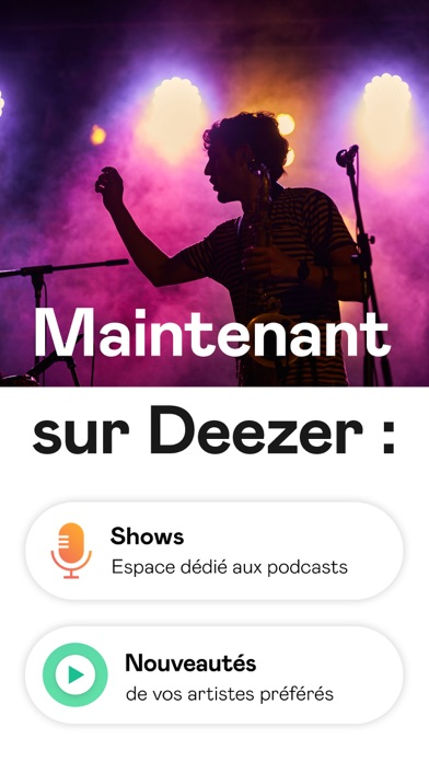 Deezer: Playlists & Podcasts sur pc