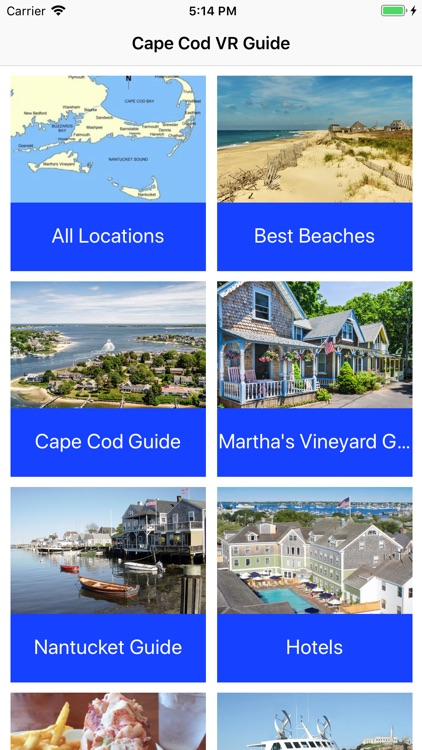 VR Guide: Cape Cod and Islands