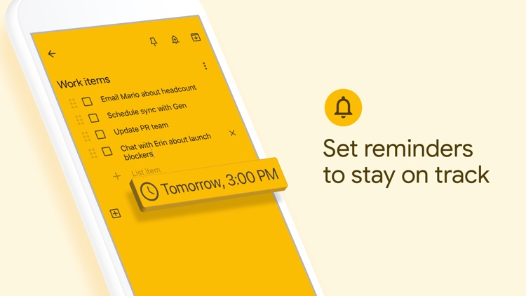 Google Keep - Notes and lists screenshot-2
