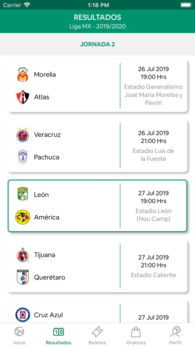 Screenshot for Club Leon Oficial in Mexico App Store