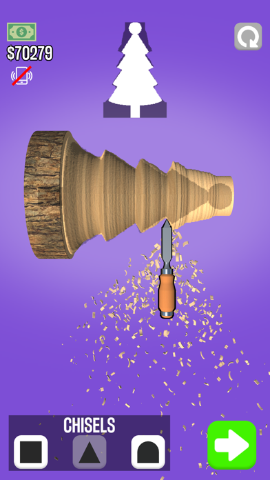 Screenshot of Woodturning 3D App