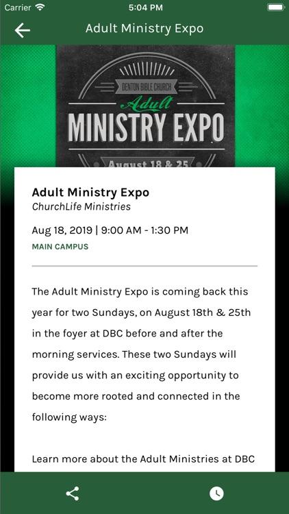 Denton Bible Church screenshot-4