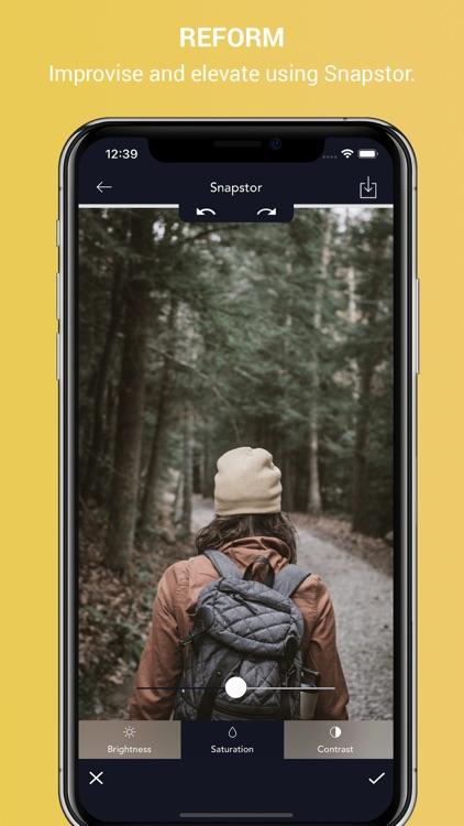 Snapstor - Best Photo Editor screenshot-6