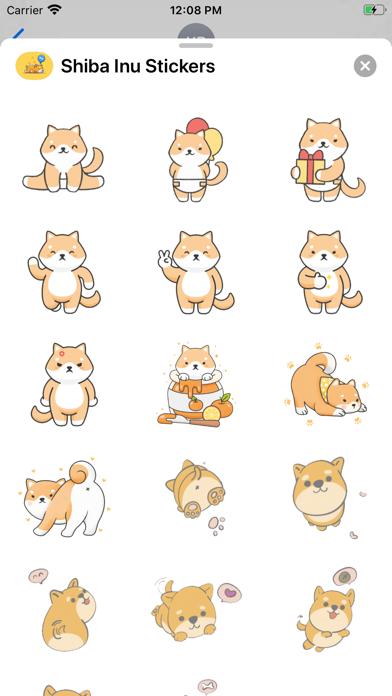 Shiba Inu Stickers screenshot 3