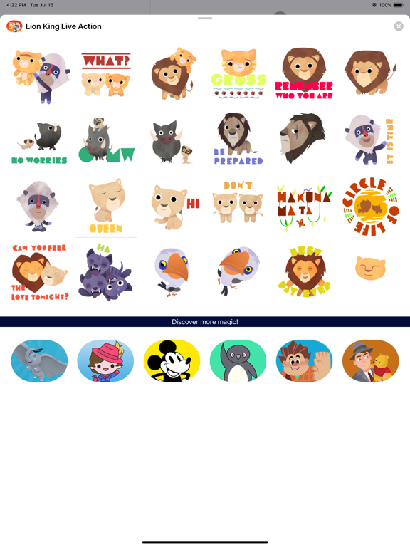 The Lion King Stickers screenshot 6