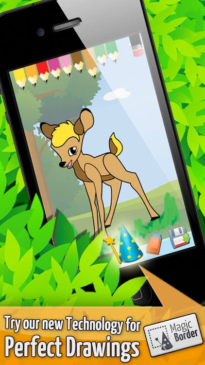 Forest:Toddlers Coloring Games screenshot-4