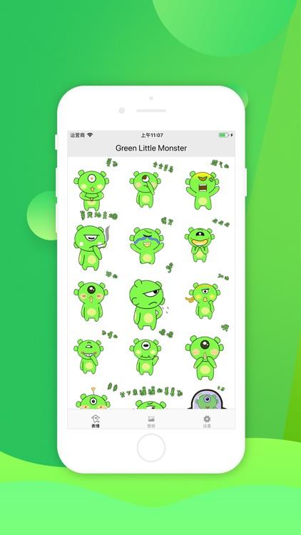 Green Little Monster