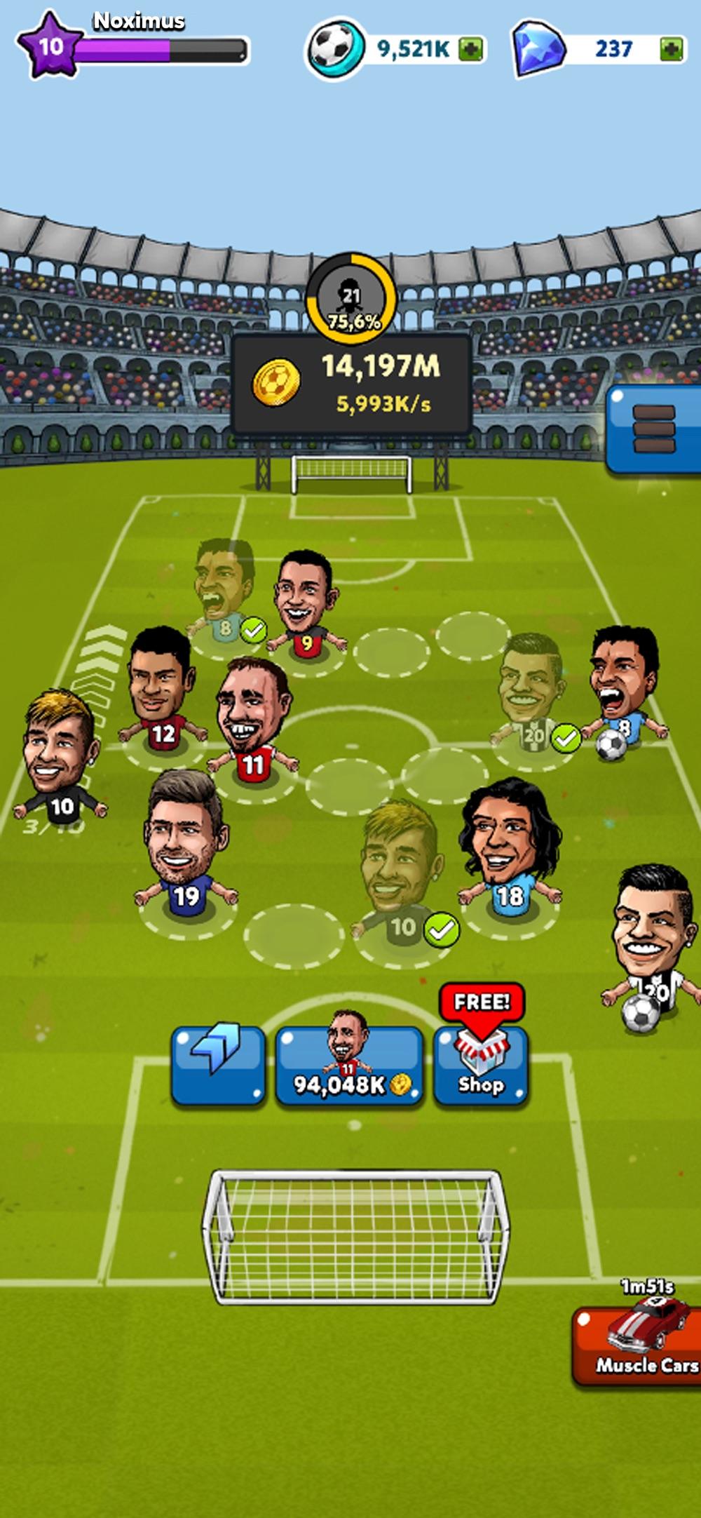 Merge Puppet Soccer hack tool
