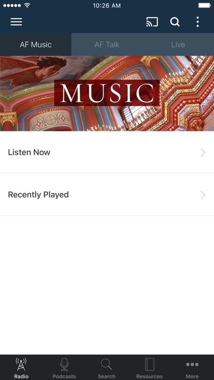 Ancient Faith Radio App