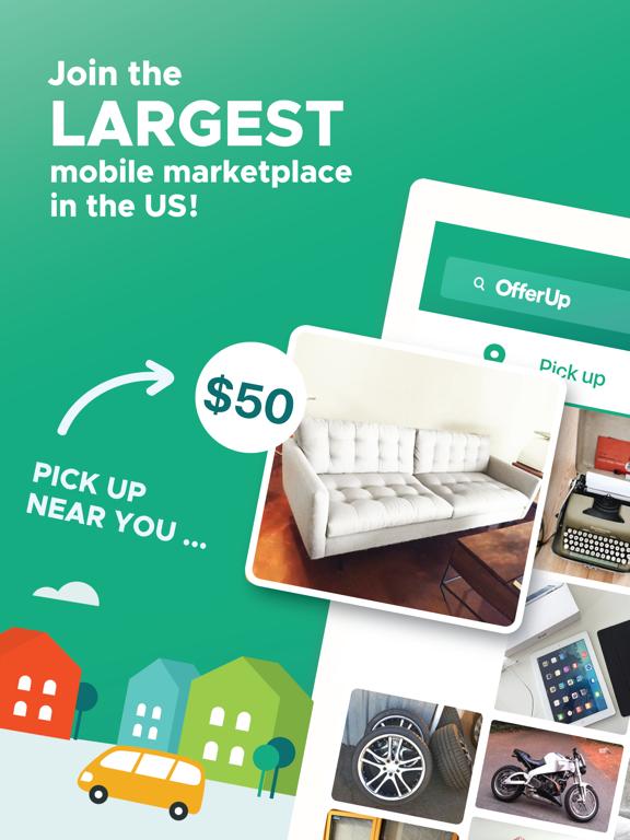 OfferUp - Buy  Sell  Simple  - Revenue & Download estimates