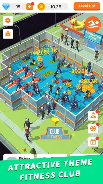 Idle Gym - Fitness Simulation screenshot-0