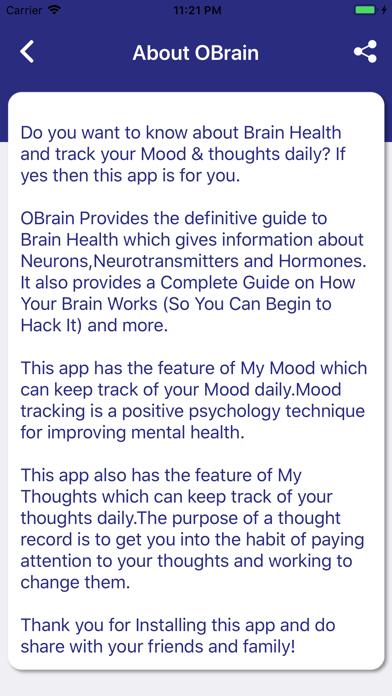 OBrain: Improve Brain Health screenshot #2