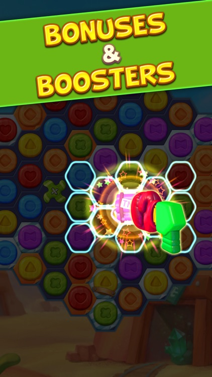 Toy Party: Match 3 Hexa Blast! screenshot-3