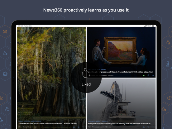 News360: Your Personalized News Reader screenshot