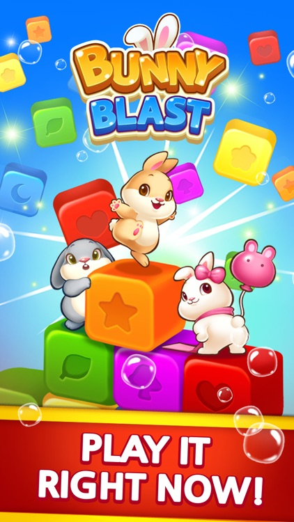 Bunny Blast - Puzzle screenshot-4