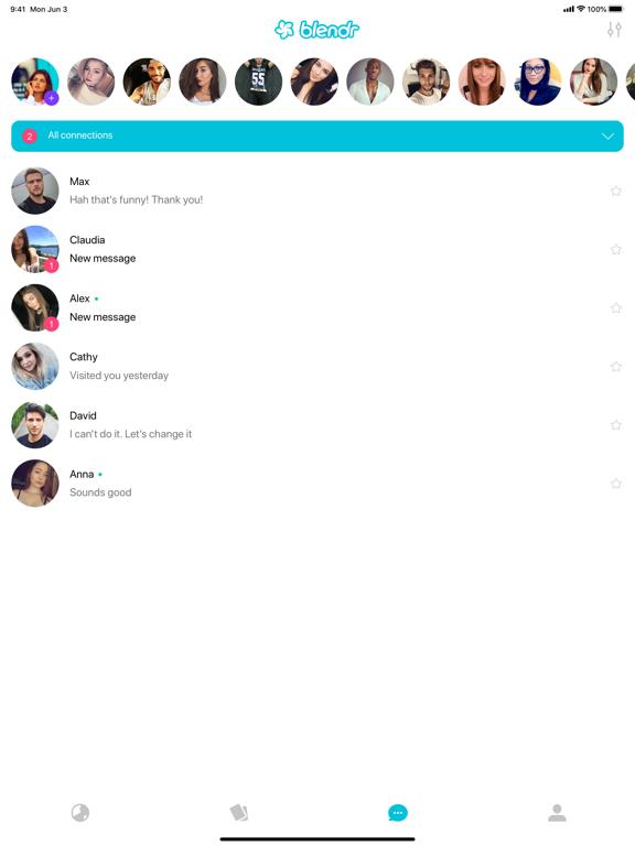 Blendr screenshot