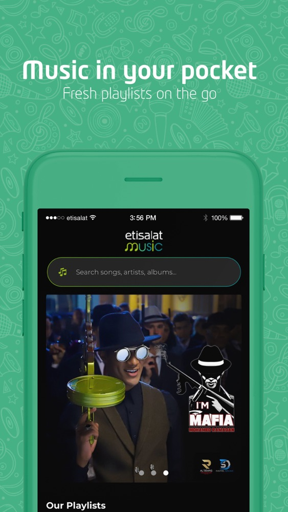 etisalat Music App for iPhone - Free Download etisalat Music for