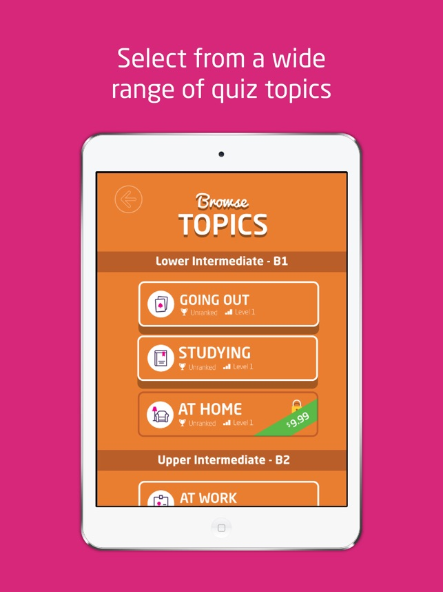 Quiz your English on the App Store