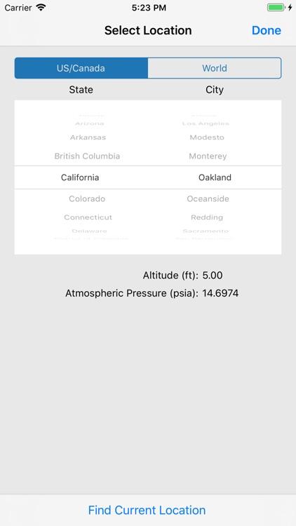 HVAC PT Chart screenshot-7