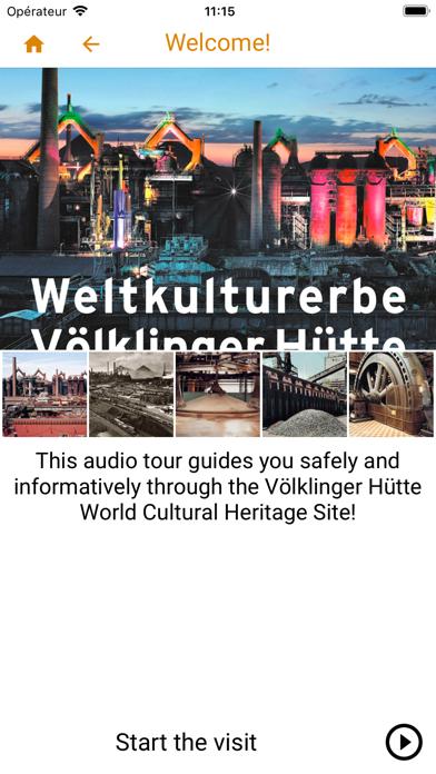 Völklinger Hütte App screenshot 1