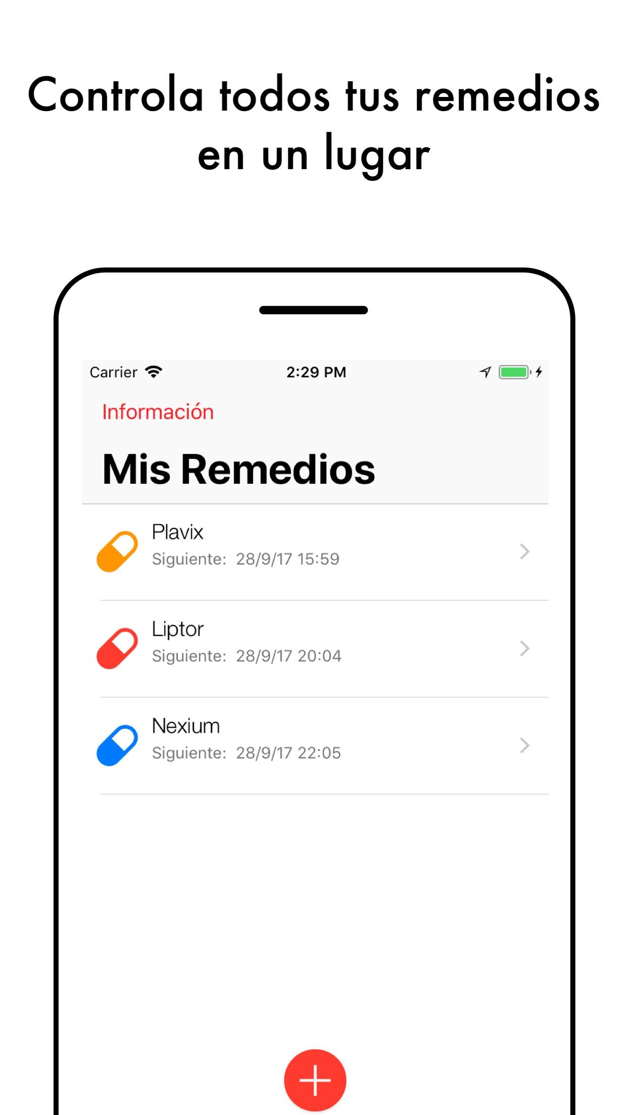 Alarma de Medicamento Screenshot