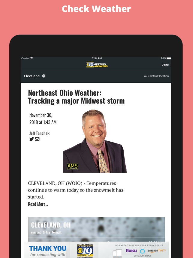 WOIO Cleveland19 News on the App Store