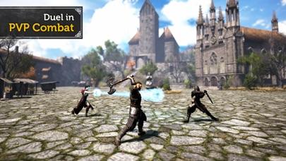 Screenshot from Evil Lands: MMO RPG