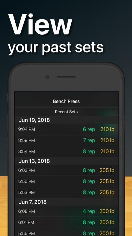Setgraph: Log & Track Workout