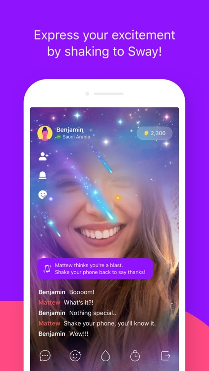 Sway - Social Live Video Chat