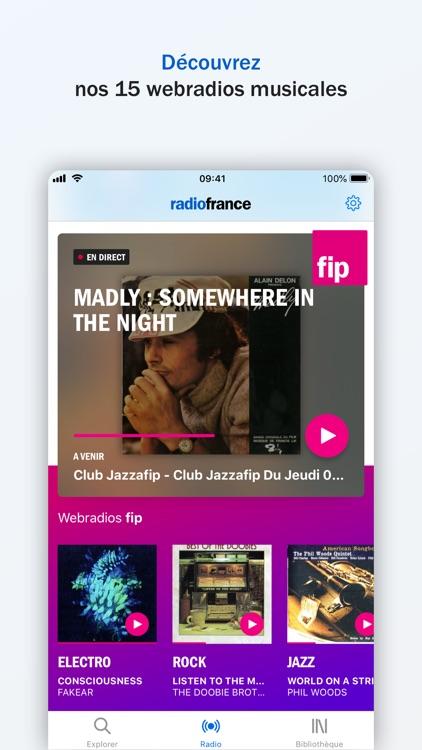 Radio France - podcast, radios screenshot-6