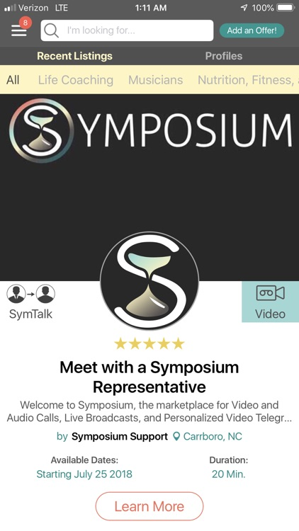 Symposium - Live & Exclusive screenshot-2
