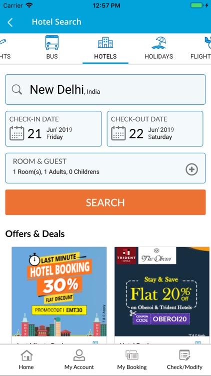 EaseMyTrip- Flight Booking App screenshot-5