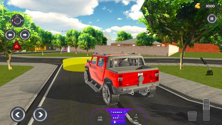 Modern City Traffic Car Drive screenshot-5