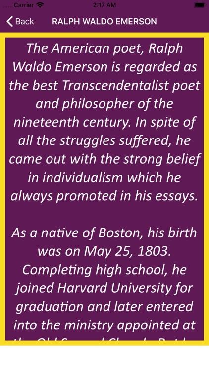 Ralph Waldo Emerson Wisdom screenshot-3